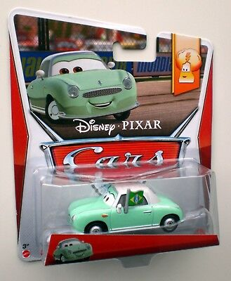 Cars 2 3 DENISE BEAM Carla Veloso's Fan MATTEL Disney Die-Cast OVP Metall 7/9 !!