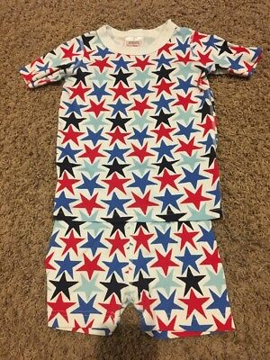 Hanna Andersson 110(5) Star July 4th Short Jammies