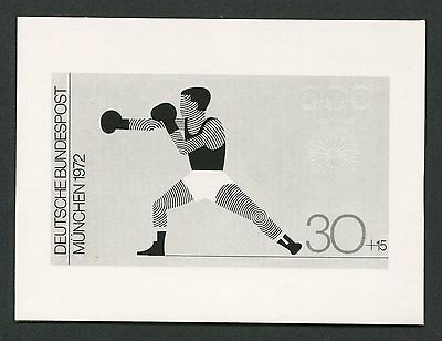 BRD FOTO-ESSAY OLYMPIA 1972 BOXEN OLYMPICS BOXING PHOTO-ESSAY PROOF e222