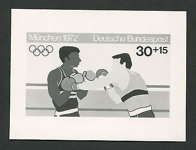 BRD FOTO-ESSAY OLYMPIA 1972 BOXEN OLYMPICS BOXING PHOTO-ESSAY PROOF e223