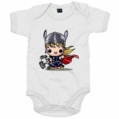 Body bebé Chibi Kawaii Thor comic parodia