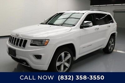 Jeep Grand Cherokee 4x2 Overland 4dr SUV Texas Direct Auto 2016 4x2 Overland 4dr SUV Used Turbo 3L V6 24V Automatic 4X2