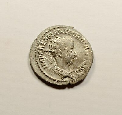 GORDIAN III 238AD Authentic Original Ancient Silver Roman Coin