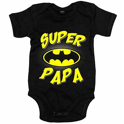Body bebé Súper Papá Batman