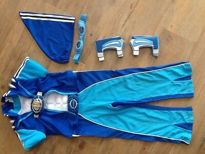 Lazy Town Sportacus Costume with Accessories age 3-5 years USED & LAZY TOWN SPORTACUS Costume with Accessories age 3-5 years USED ...