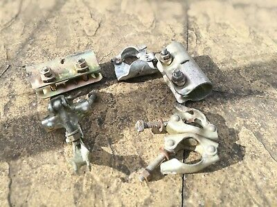 Assorted Scaffold Clamp fittings. Roughly 100 pcs various, good condition