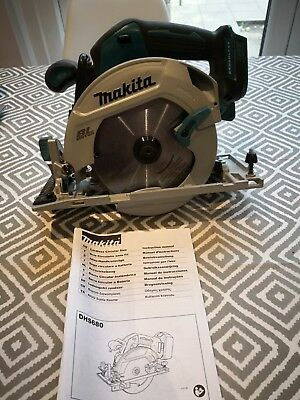 makita brushless circular saw 18v. 8 weeks old. spares or repair