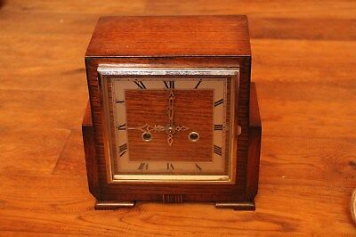 Made in Enfield  Vintage Clock, No Key Thus Untested