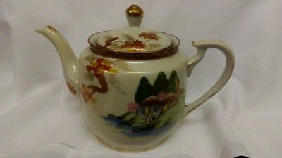 Teapot..chinese..approx 60 Years Old..4 Cup