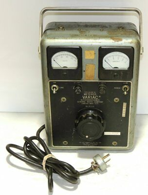 General Radio Company Variac Type W10MT3A For Your Western Electric Amplifier