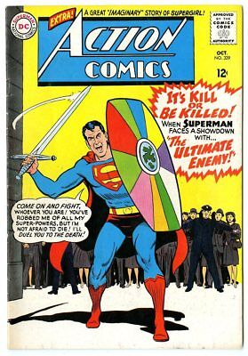 Action Comics #329 FN/VF 7.0 white pages  Superman  DC  1965  No Reserve