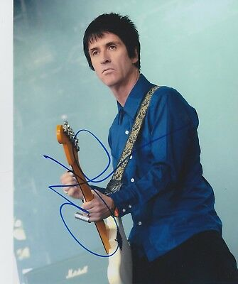 Johnny Marr Signed 10x8 Photo AFTAL