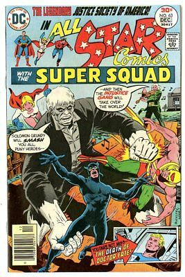 All Star Comics #63 NM 9.4 ow/white pages  Justice Society  DC  1976  No Resv