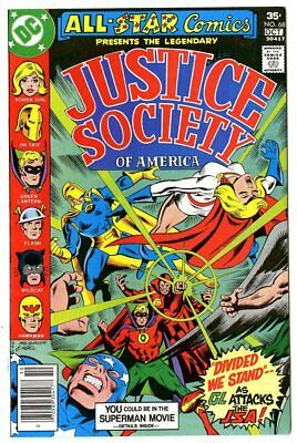 All Star Comics #68 NM+ 9.6 white pages  Justice Society  DC  1977  No Reserve