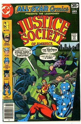 All Star Comics #70 NM- 9.2 white pages  Justice Society  DC  1978  No Reserve