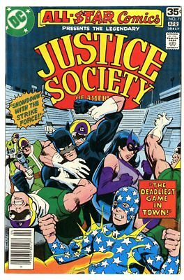 All Star Comics #71 NM 9.4 white pages  Justice Society  DC  1978  No Reserve