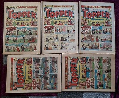 The Topper Comic 1983 * 10 x Issues- No. 1570 - 1578 ** beano dandy beezer