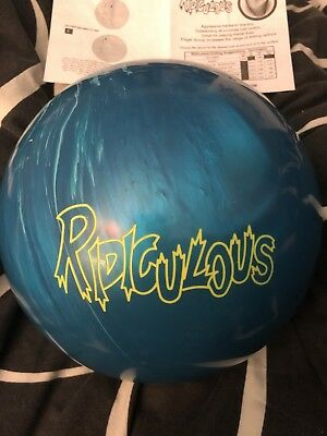 Bowlingball, 15 lbs, Radical, Ridiculous, neu, Ocean Blue