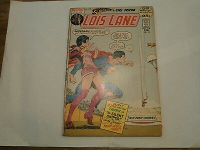 *AR* DC Lois Lane #119 52 pages Feb 1972 Inside the Outsiders! Lucy Lane!