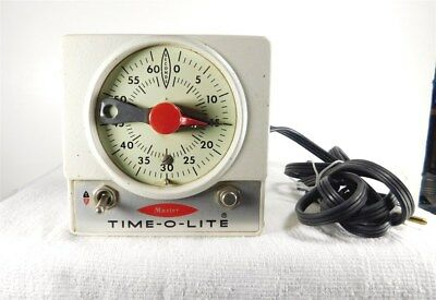 Master Time-O-Lite  M-72  Darkroom Photography Timer From Industrial Timer Corp