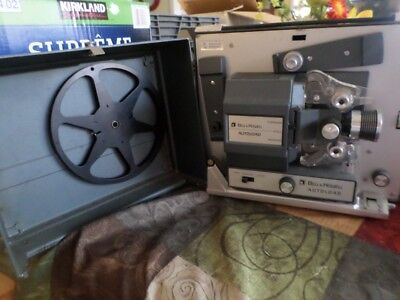 Vintage Bell & Howell 357B Auto Load Super 8 Film Movie Projector