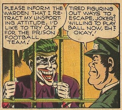 BATMAN SUNDAY PAGE #104 - Oct 28, 1945 - THE JOKER! - HIGH GRADE - VERY RARE!