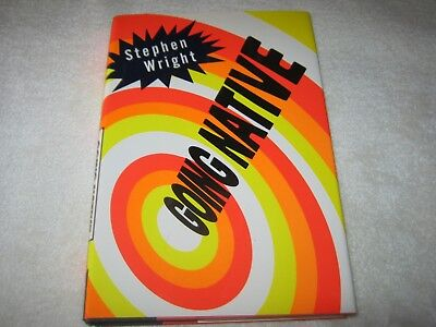 SIGNED by STEPHEN WRIGHT - GOING NATIVE - Hb Dj RARE 1ST - LOT OF FUN AMERICANA