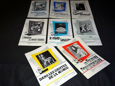 lot 8 dossiers presse cinema fantastique hammer film