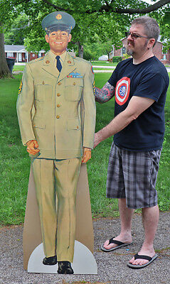 NOS 1962 ARMY SOLDIER STANDEE SIGN Military Recruiting Officer   Vietnam War