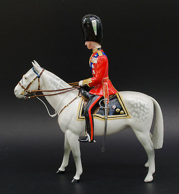 Vintage Beswick Duke of Edinburgh on Alamein Horse Figurine Model 1588