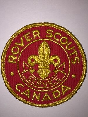 Scouts Canada Rover Scouts Service Crest. older style