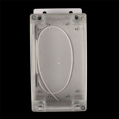158x90x65mm Clear Waterproof Plastic Electronic Project Box Enclosure  Case WE