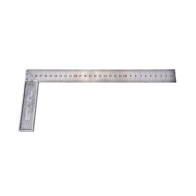 Best 30cm Stainless Steel Right Measuring Angle Square Ruler _T