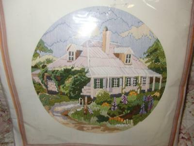 "Unworked Semco Long Stitch Originals Kit "" Country Retreat "" #3300-3152"