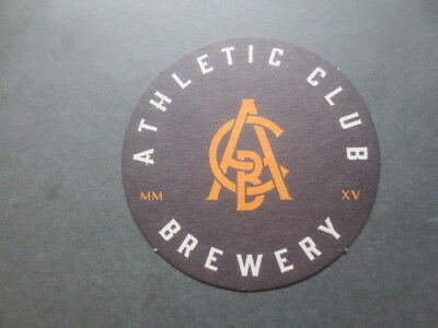 1 only ATHLETIC CLUB BREWERY,Ballarat,Victoria. Issued  BEER COASTERS