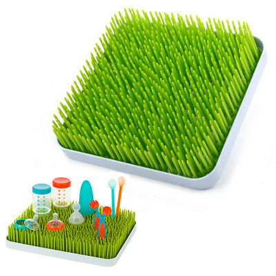 Simulation Green Lawn Grass Countertop Baby Bottle Utensils Dish Drying Rack Mat