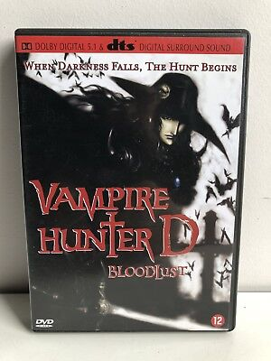 Vampire Hunter D Bloodlust MANGA ANIME DVD  DUTCH SUBTITLES