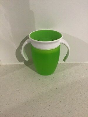 Munchkin Miracle 360 Sippy Training Cup Toddler 207ml Green