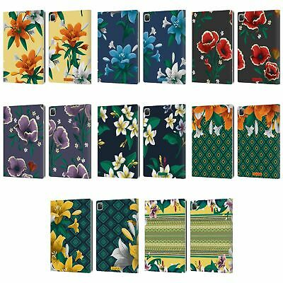 OFFICIAL FRIDA KAHLO FLOWERS LEATHER BOOK WALLET CASE COVER FOR APPLE iPAD