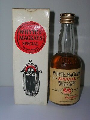 Mignon Whisky Whyte & Mackays 5.5 Cls. 43 Gl. Box