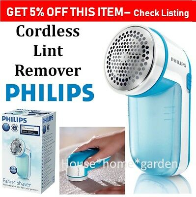 Lint Remover Fabric Shaver Clothes Jumper Pill Fluff Remove Cordless Portable