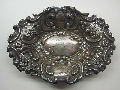 Synyer & Beddoes Schale Bowl Sterling Silver Silber 1898 Birmingham