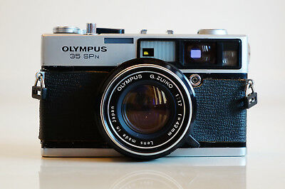 OLYMPUS 35 SPn CAMERA VERY GOOD CONDITION RARE
