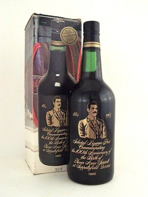1933-1972 SEPPELT Para Port 100th Blend Xaver Arno Original Box Isle of Wine