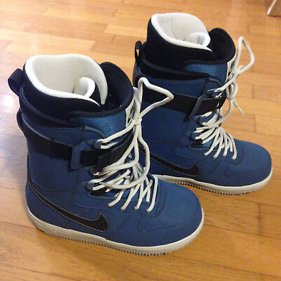 Nike Zoom Force 1 Snowboardschuhe Boots, Size EUR 42, 26.5cm Farbe: blue