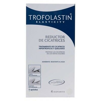 TROFOLASTIN SCAR REDUCTION DRESSING 5/pk REDUCTOR DE CICATRICES EXP.DATE 01/2021