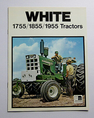 1960's-70's White Oliver 1755 1855 1955 Tractor Brochure Row Crop 4-Wheel Drive