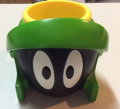 1995 Marvin the Martian Plastic Coffee Cup Mug Applause - Looney Tunes Kids WB