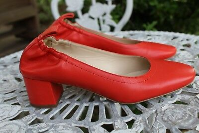 Everlane Day Heel Bright Red Size 7.5