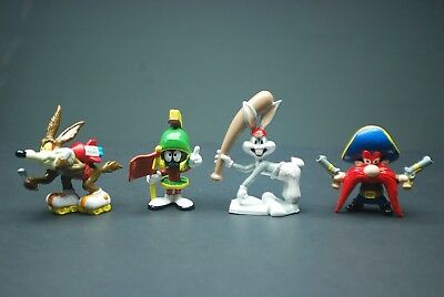 Vtg Applause Warner Bros Looney Tunes Pvc Figure Lot Marvin Martian Bugs Bunny